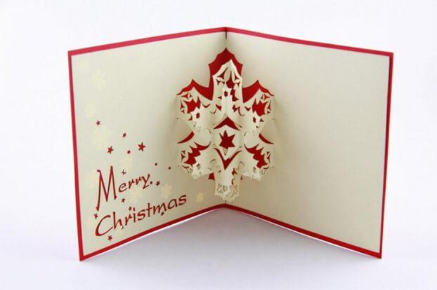 Trang trí thiệp Noel