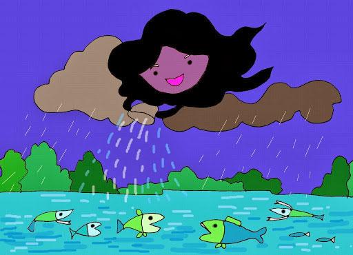 Câu chuyện Hồ nước và Mây