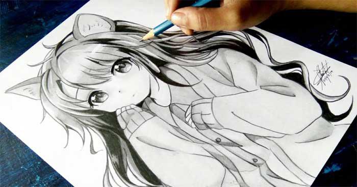 Hướng dẫn vẽ anime cho người mới bắt đầu