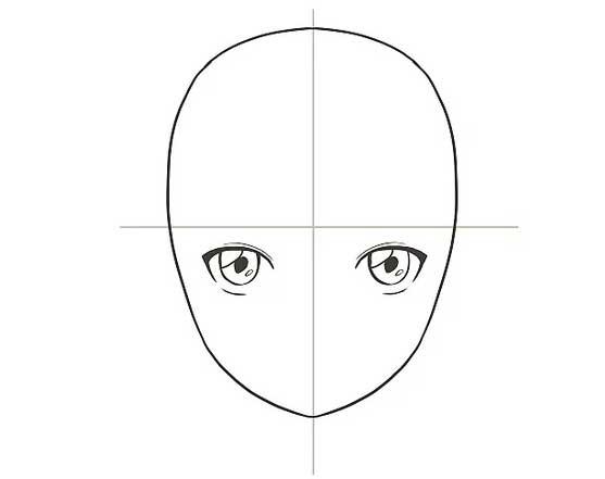Vẽ mắt nhân vật anime