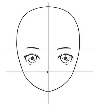 Vẽ mũi cho nhân vật anime
