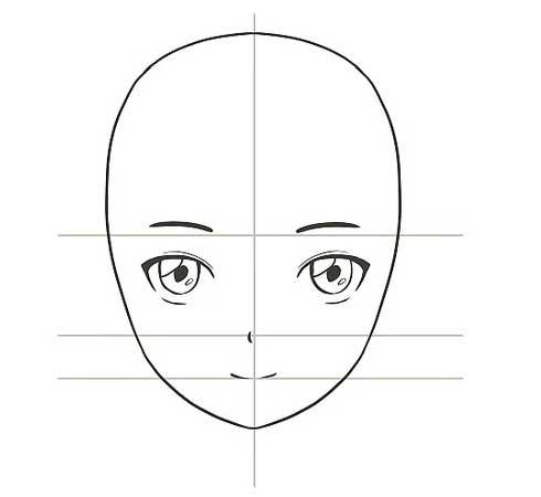 Vẽ miệng cho nhân vật anime