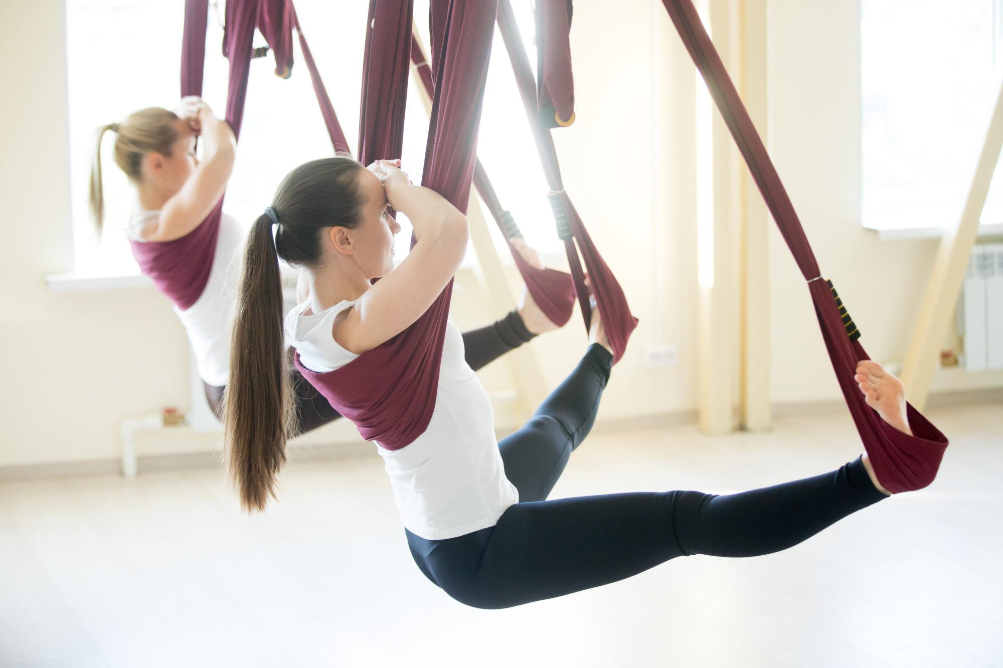 Những lợi ích khi tập yoga bay là gì?