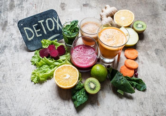 Tác dụng của nước detox với sức khỏe