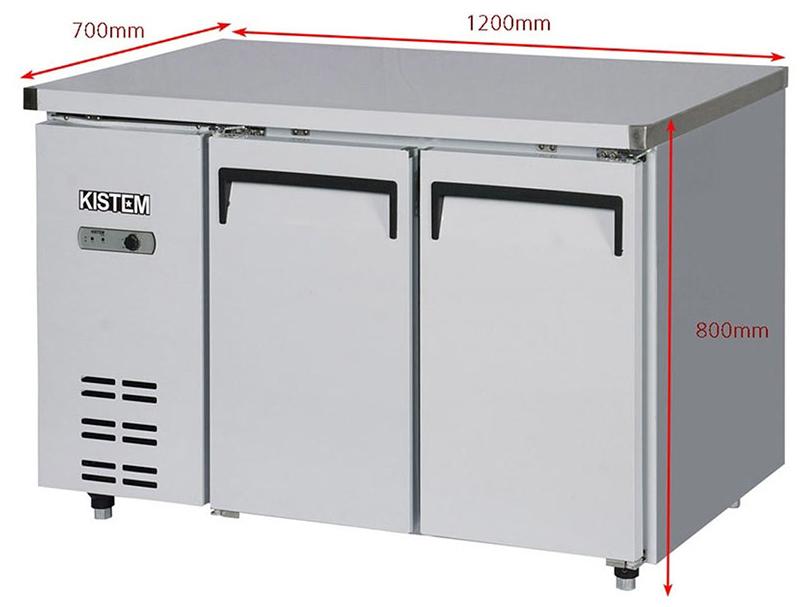 Tủ bàn mát 1200mm Kistem KIS-XDT12R - 271 lít