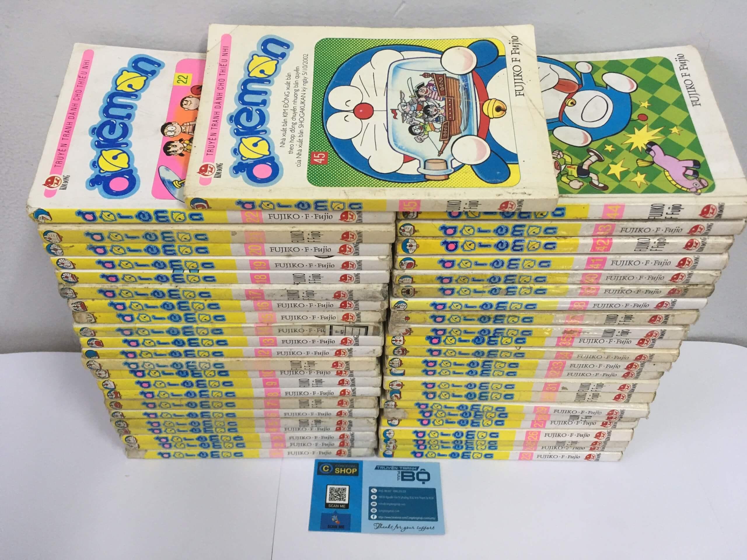 """Doraemon, một trong những bộ manga """"kinh điển"""" của Nhật"""