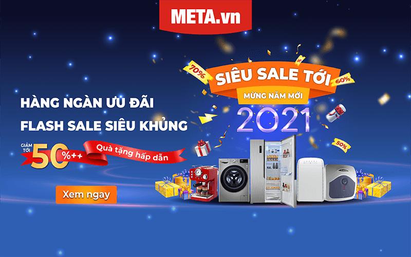 Siêu sale tới - Mừng Năm Mới 2021