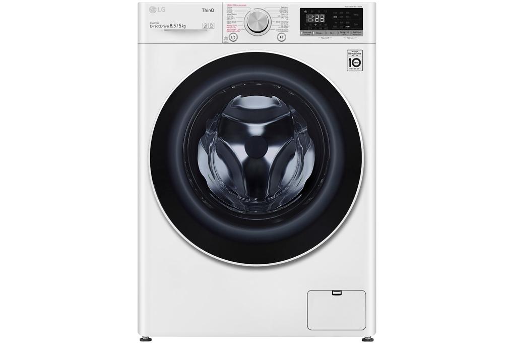 Máy giặt sấy LG Inverter 8.5kg FV1408G4W