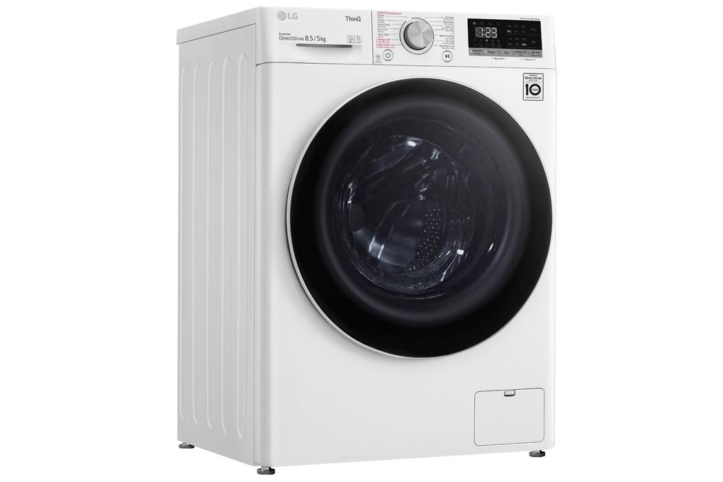 Mua ngay máy giặt sấy LG Inverter 8.5kg FV1408G4W (New 2020)