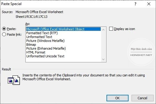 Cách in 2 mặt trong Excel thông qua Word