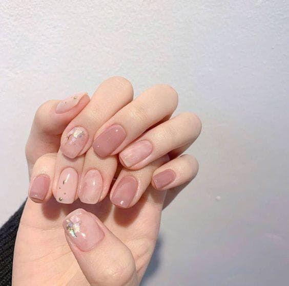 Mẫu móng tay đẹp cho cô dâu