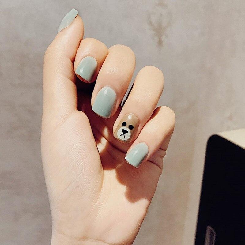 Kiểu nail đẹp cho móng ngắn