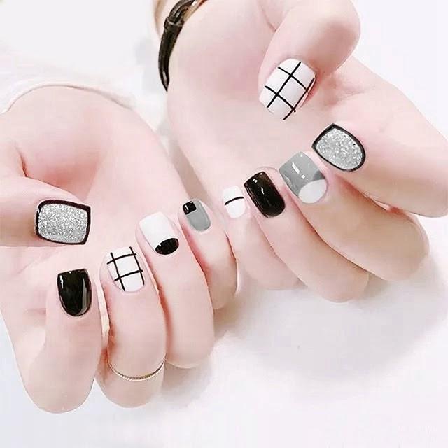 Mẫu nail dễ thương cho móng ngắn