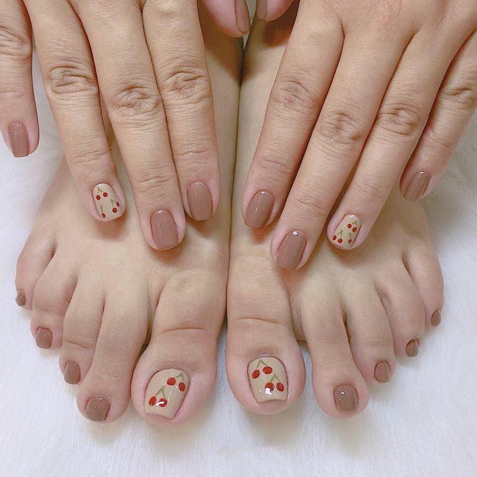 Kiểu móng tay, móng chân ngắn đẹp
