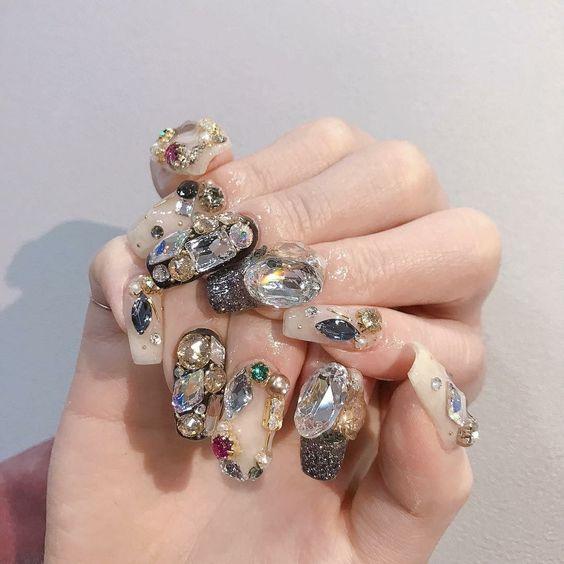 Những kiểu nail đẹp