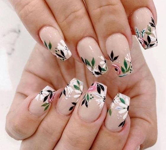 Mẫu sơn móng tay đẹp