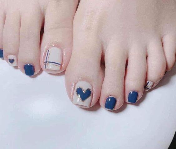 Màu sơn móng chân cho da ngăm đen
