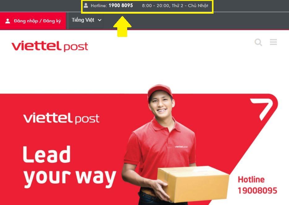 Kiểm tra đơn hàng qua tổng đài chăm sóc khách hàng ViettelPost
