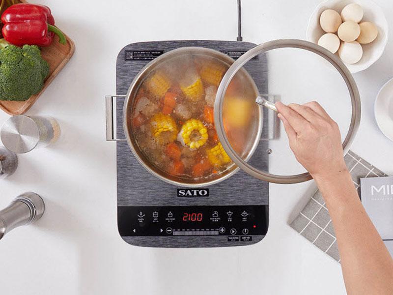Bếp từ đơn Sato của nước nào?