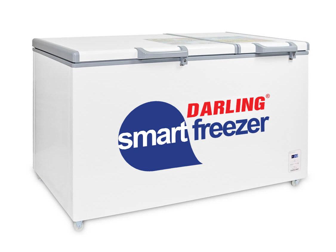 Tủ đông mát thông minh Darling 2 ngăn DMF-7699WS-2 770 lít