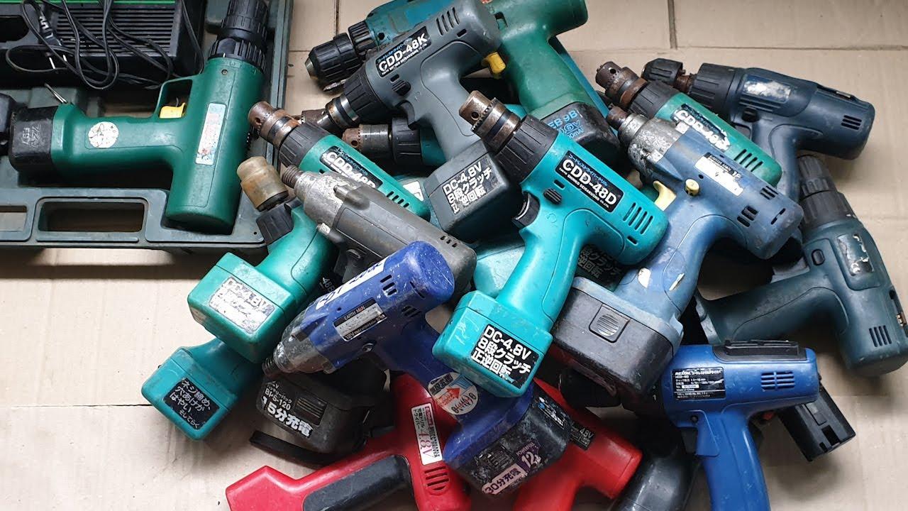 Có nên mua máy khoan pin nội đia Nhật, máy khoan pin Nhật bãi không?