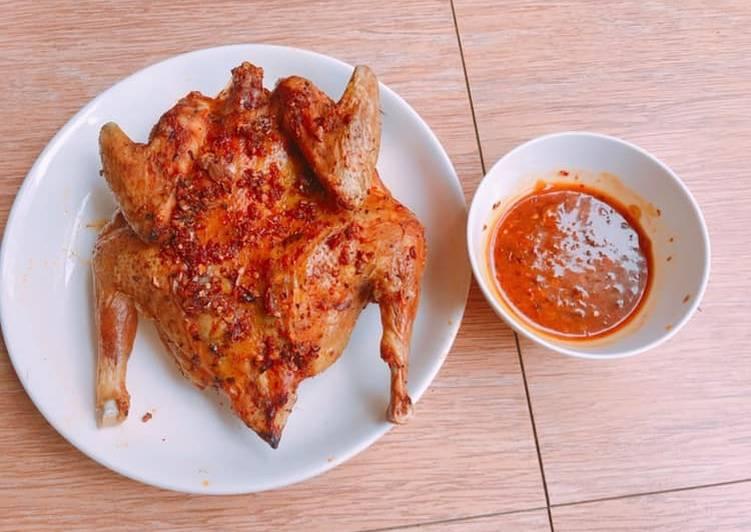 Cách làm sốt ướp gà nướng ớt