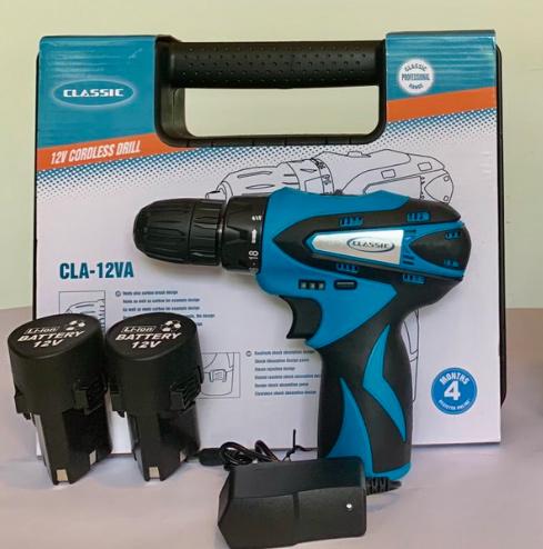 Máy khoan pin Classic CLA-12VA