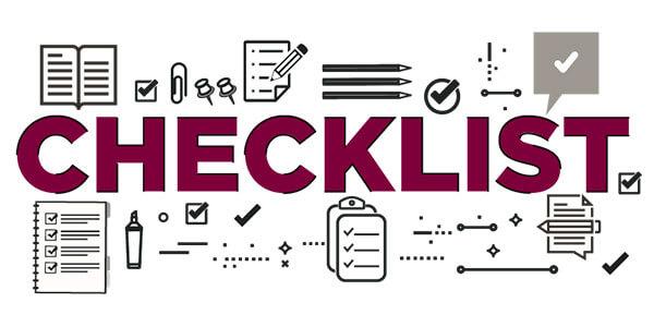 Phân biệt checklist và to-do list