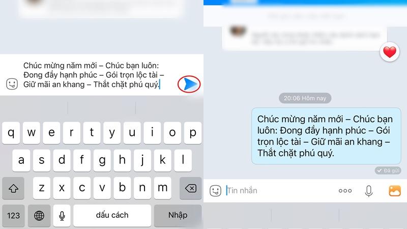 Cách gửi tin nhắn hàng loạt trên Zalo để chúc Tết