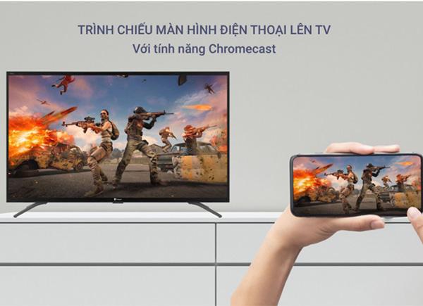 Tivi Casper 43 inches 43FG5200 tải được dữ liệu từ điện thoại