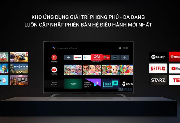 Tivi Casper 32 inches 32HG5200 sử dụng hệ điều hành Android 9.0