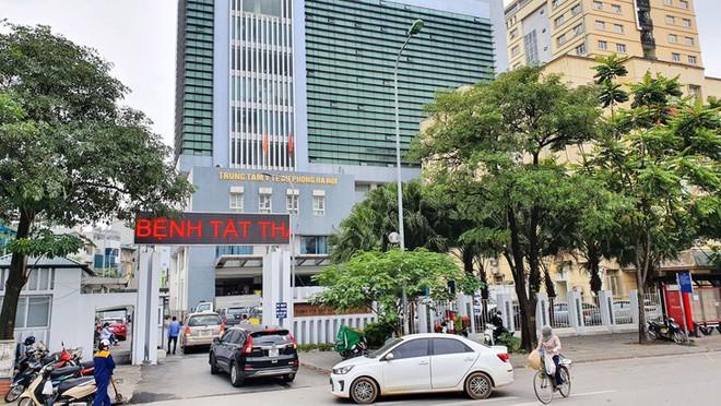 Liên hệ Trung tâm kiểm soát bệnh tật thành phố Hà Nội