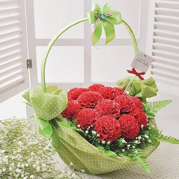 Cách cắm hoa cẩm chướng đẹp
