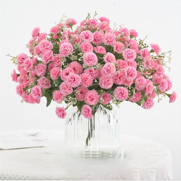 Mẫu cắm hoa cẩm chướng đẹp