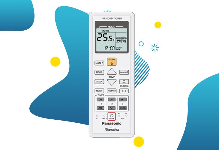 Hướng dẫn cách test mã lỗi trên điều hòa - máy lạnh Panasonic