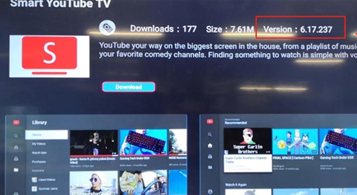 Cách tải và cài ứng dụng Smart YouTube TV trên tivi TCL