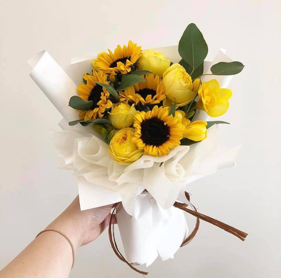 Bó hoa hướng dương sinh nhật
