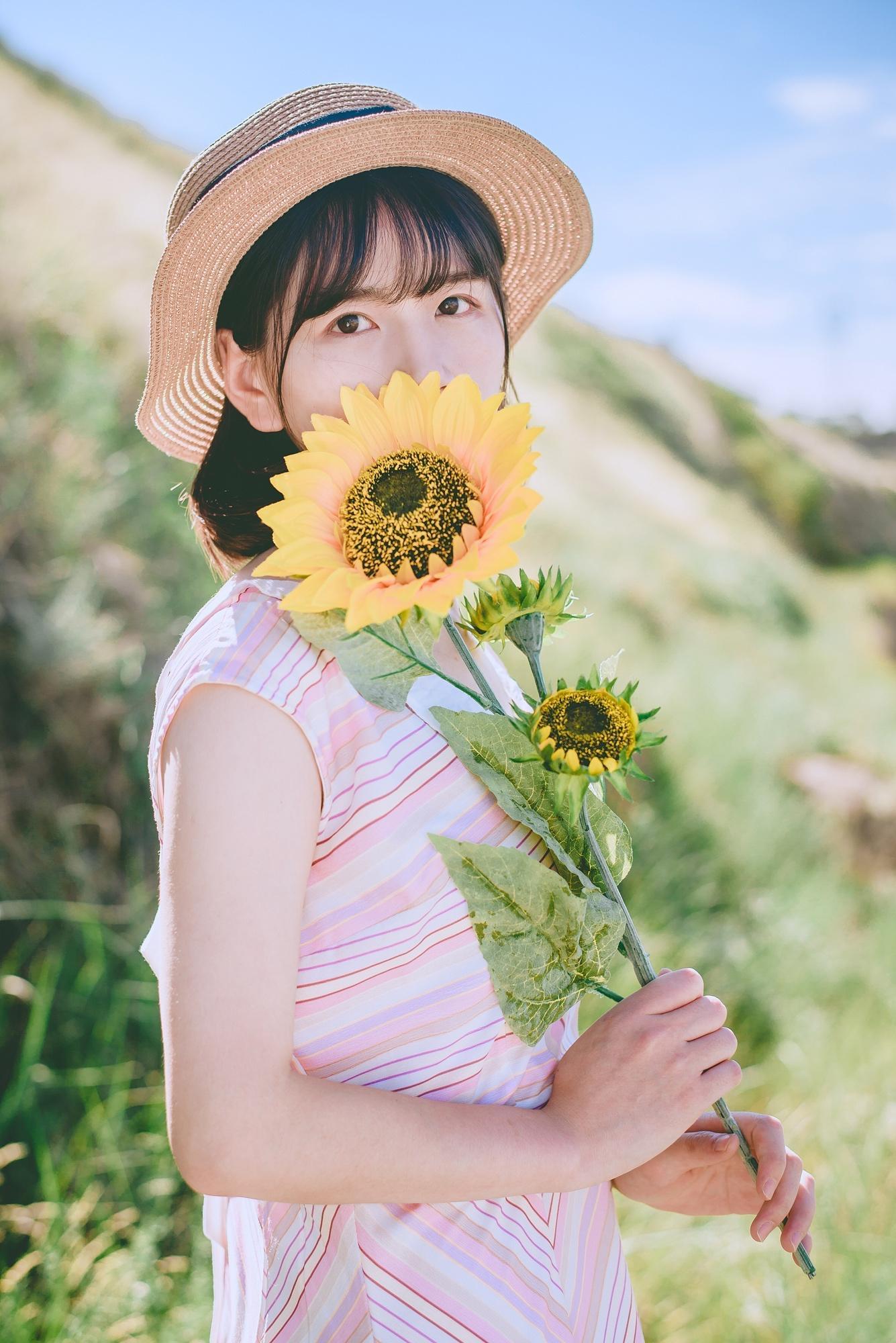 Cách chụp ảnh với hoa hướng dương
