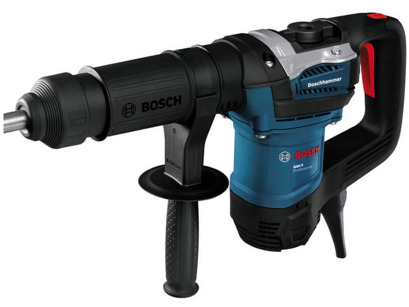 Máy đục bê tông Bosch GSH 5 EXW 06113370K2 (kèm phụ kiện)