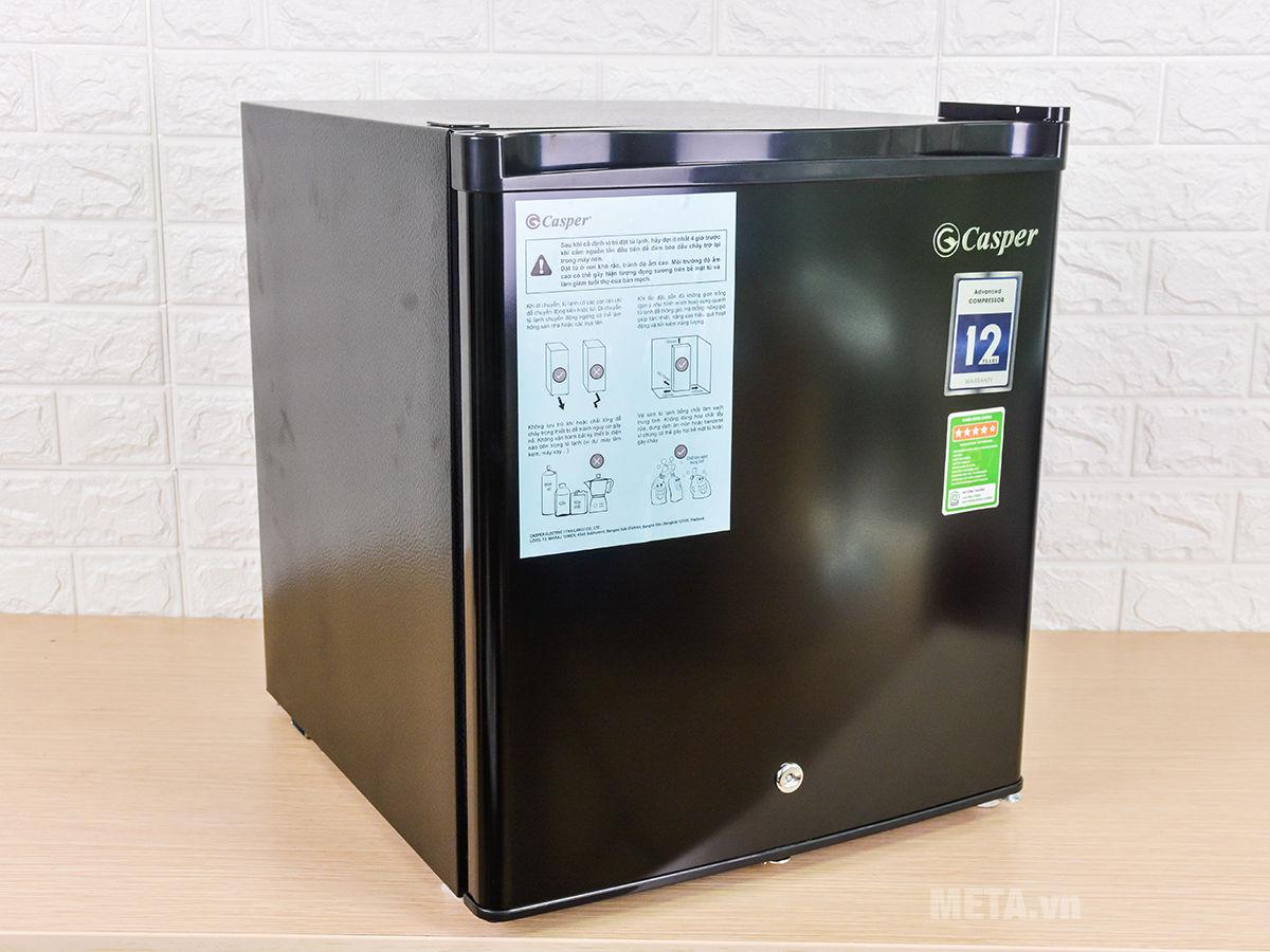Tủ lạnh 1 cửa Casper RO-45PB (44 lít)