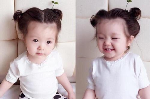 Các cách buộc tóc đẹp cho bé gái tóc ngắn xinh nhất