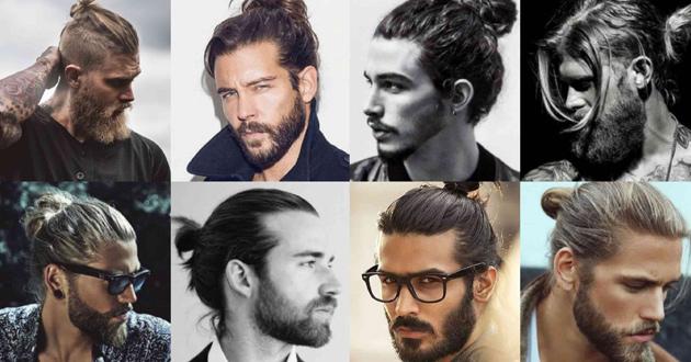 Những kiểu tóc nam dài buộc đẹp, lãng tử, chất chơi