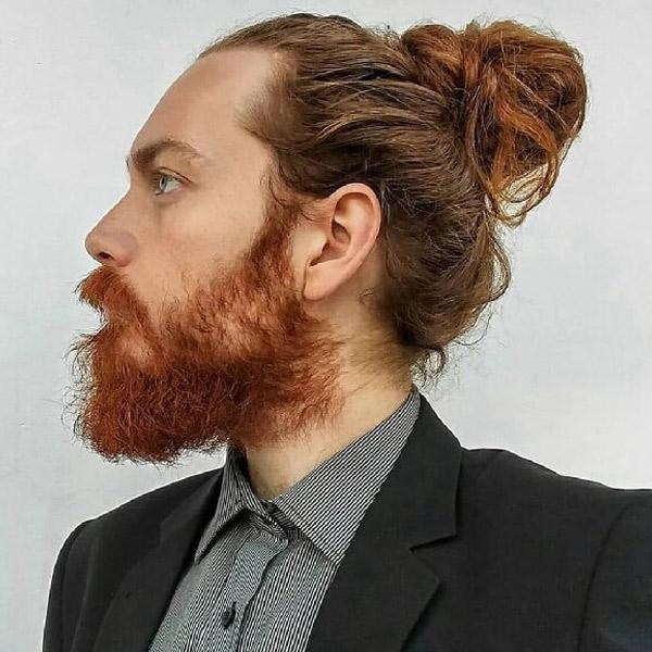 Kiểu tóc nam cột lên cho nam