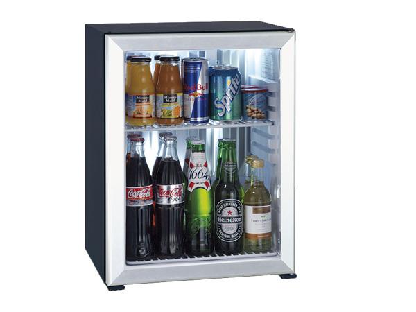 Minibar Primo 40 lít cửa kính viền kim loại XC40 AGD