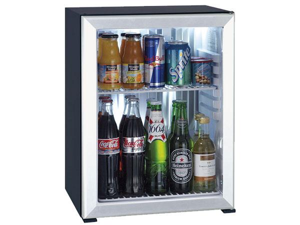 Minibar Primo 20 lít cửa kính viền kim loại MC20 AGD