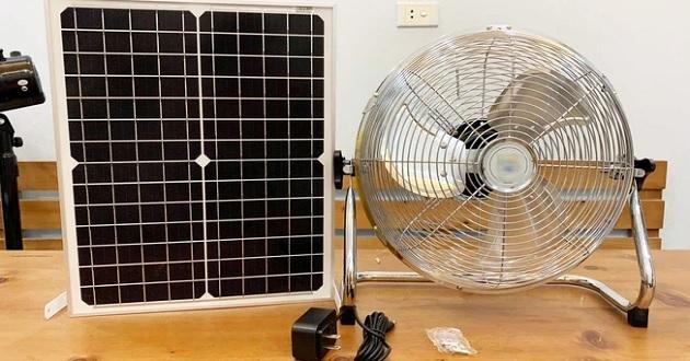 Có nên mua quạt năng lượng mặt trời không