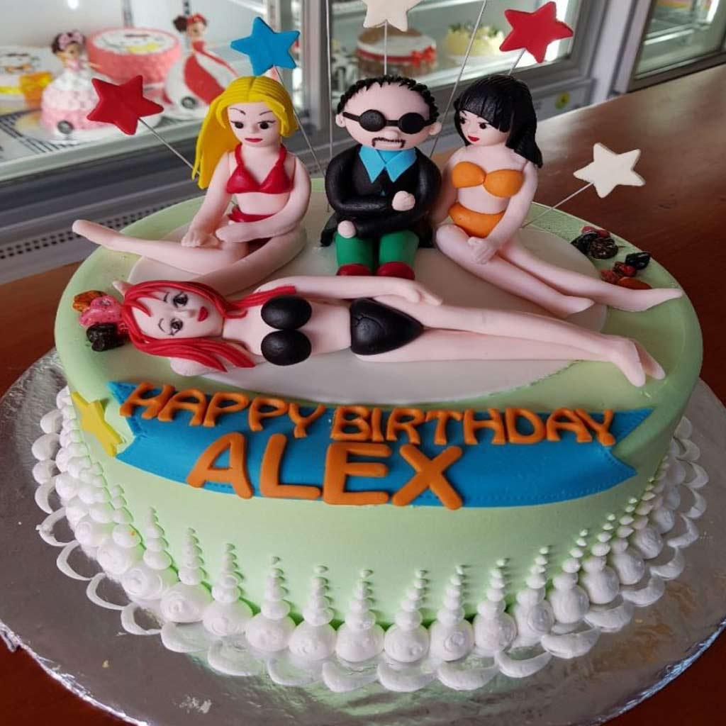 Ảnh bánh sinh nhật bựa
