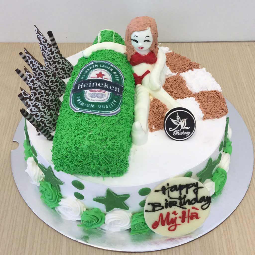 Hình bánh sinh nhật bựa, siêu lầy