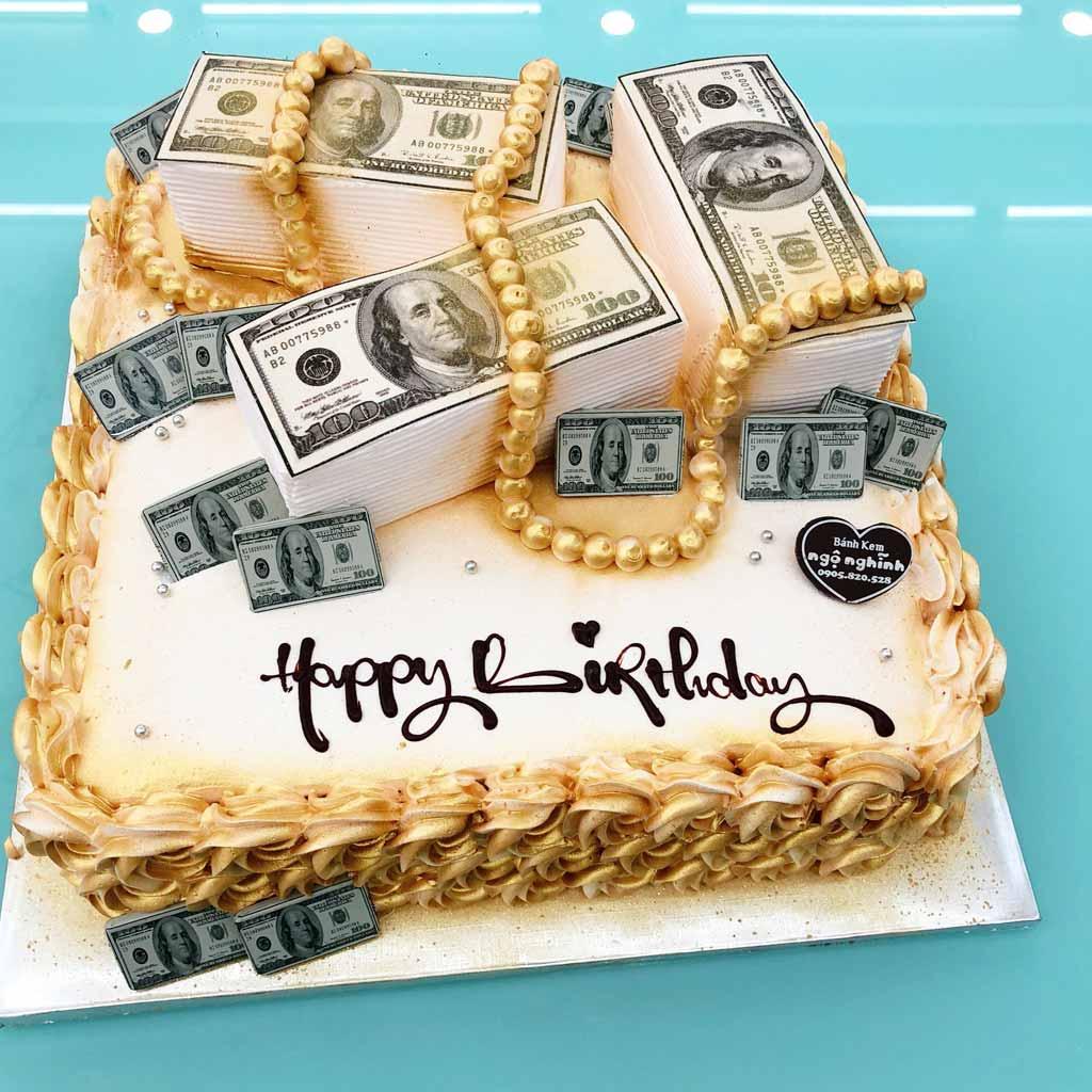Ảnh bánh sinh nhật tiền