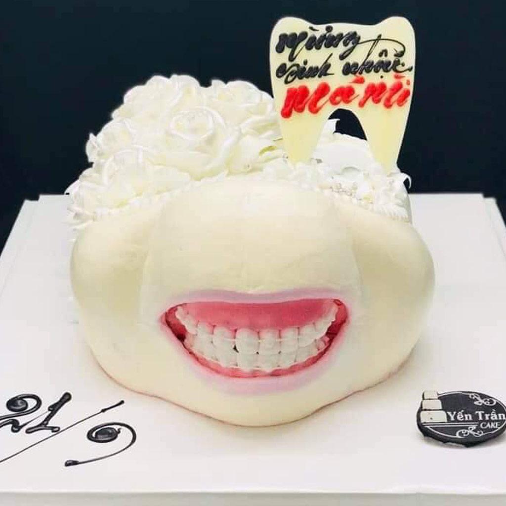 Ảnh bánh sinh nhật chống khẩu nghiệp